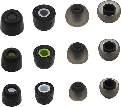 X3 6 Pairs S//M//L Ear Tips for Jaybird BlueBuds X3 Bluetooth Headphones