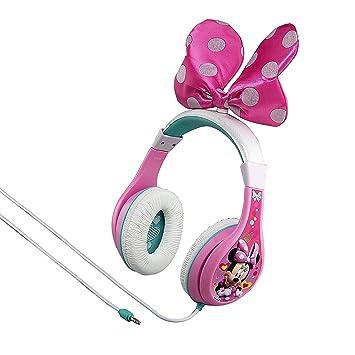 50248d1509e03 Disney Minnie Mouse Casque D écoute Pour Enfants Avec 3 Niveaux De  Limitation Du Volume