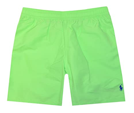 Polo Ralph Lauren Hombres de Pony Todo Swim Trunks: Amazon.es ...