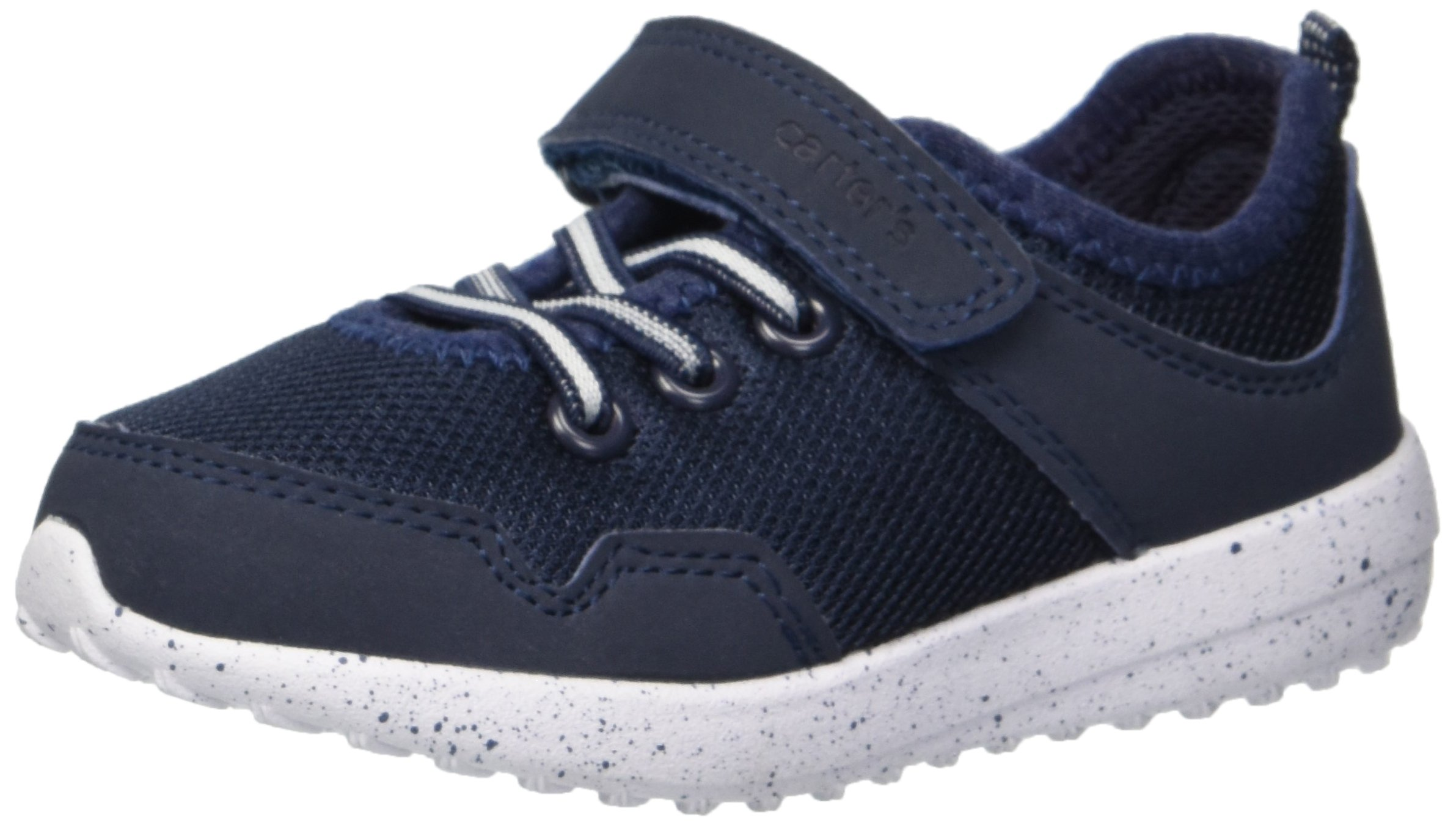 Carter's Boys' Revel Athletic Sneaker, Navy, 8 M US Toddler