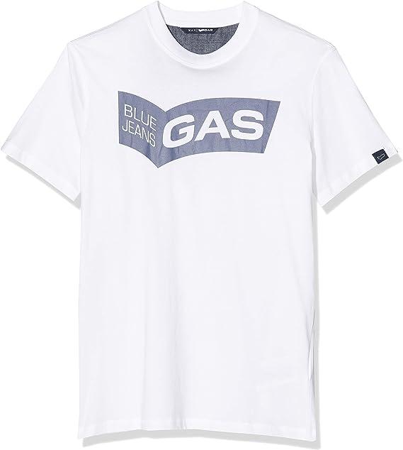 Gas Jeans Mauri/S Gas Logo Camiseta de Tirantes para Hombre: Amazon.es: Ropa y accesorios