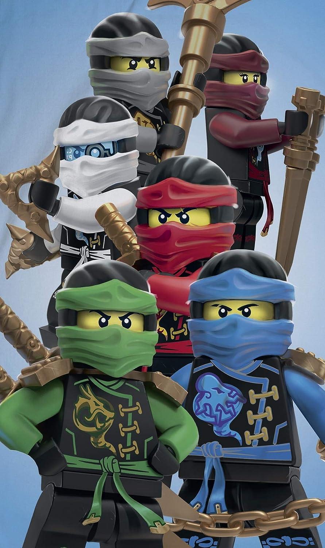 Ninjago Lego Toalla de Playa de Terciopelo, 70 x 140 cm ...