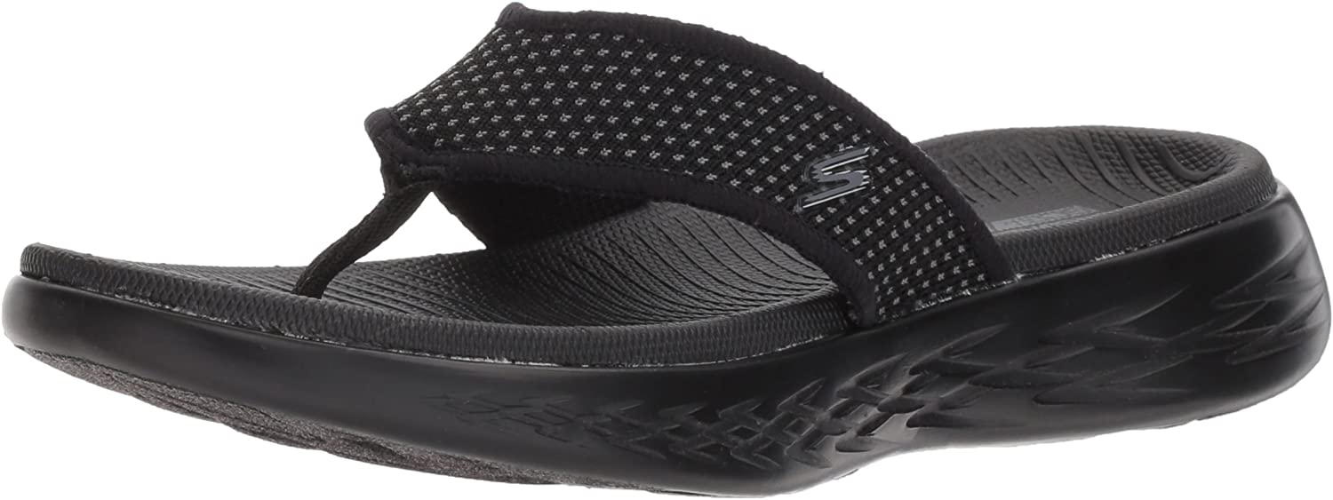Skechers On The Go 600 15300-bbk, Zapatos de Playa y Piscina para Mujer