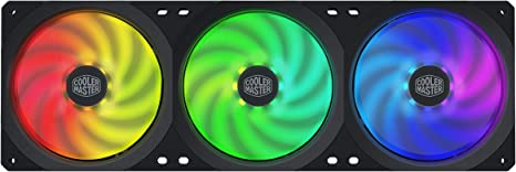 Cooler Master MasterFan SF360R ARGB - Ventilador de chasis (360 mm ...