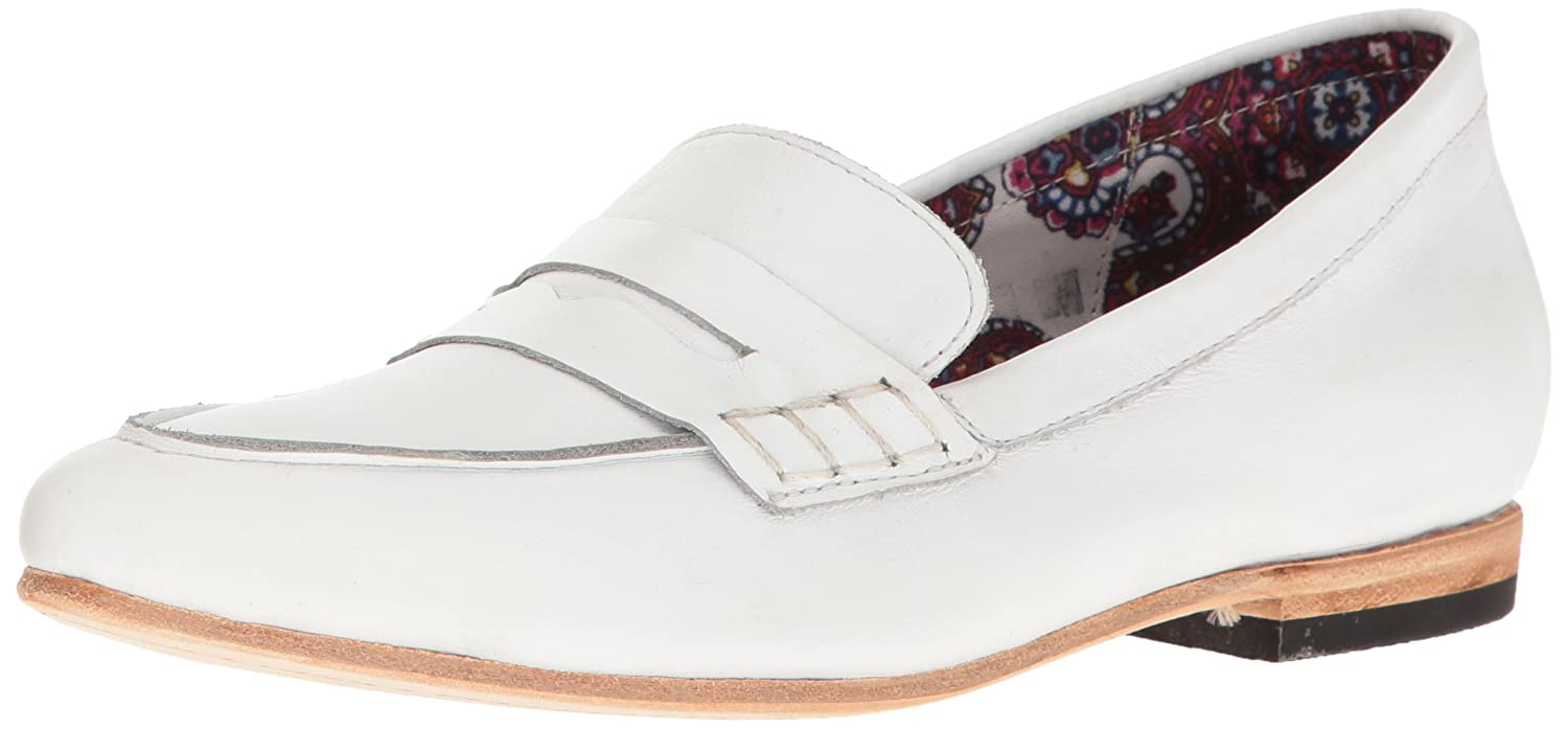 Freebird Women's Echo Loafer Flat B01LERPYMG 5.5 B(M) US|White