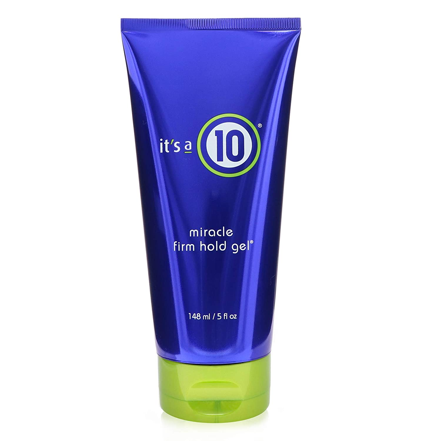 It's a 10 Haircare Miracle Firm Hold Gel, 5 fl. oz.