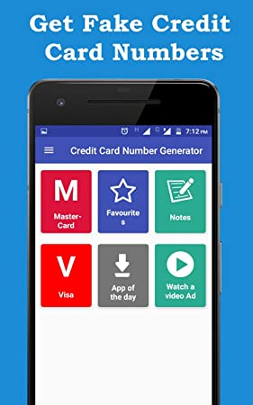 amazoncom credit card number generator appstore for android