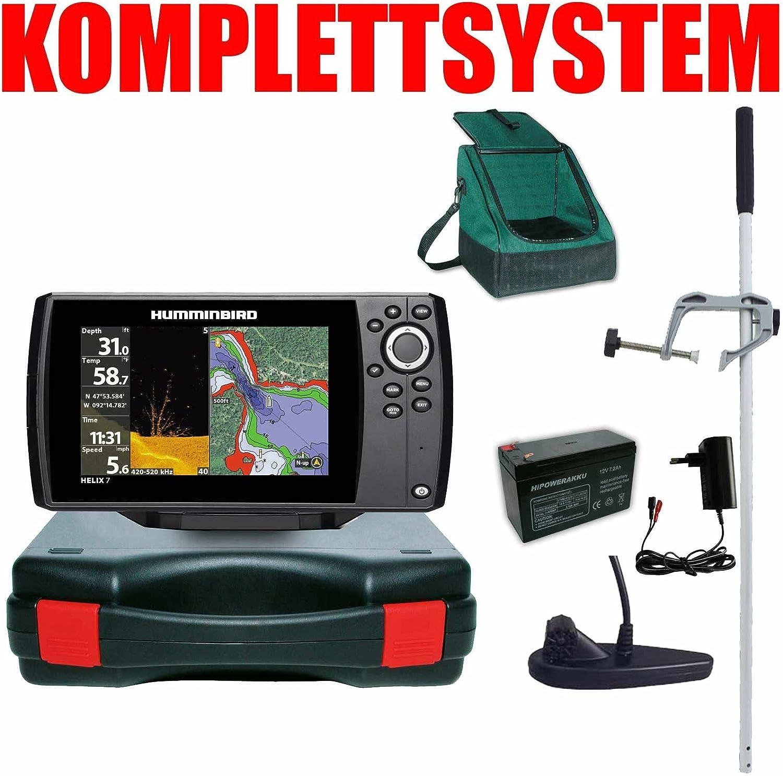 Humminbird Echolot Master Plus Helix 7 Chirp GPS Mega DI G3 - GPS ...