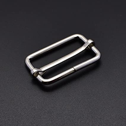 oval buckle ring metal wire formed bag straps leather craft accessory
