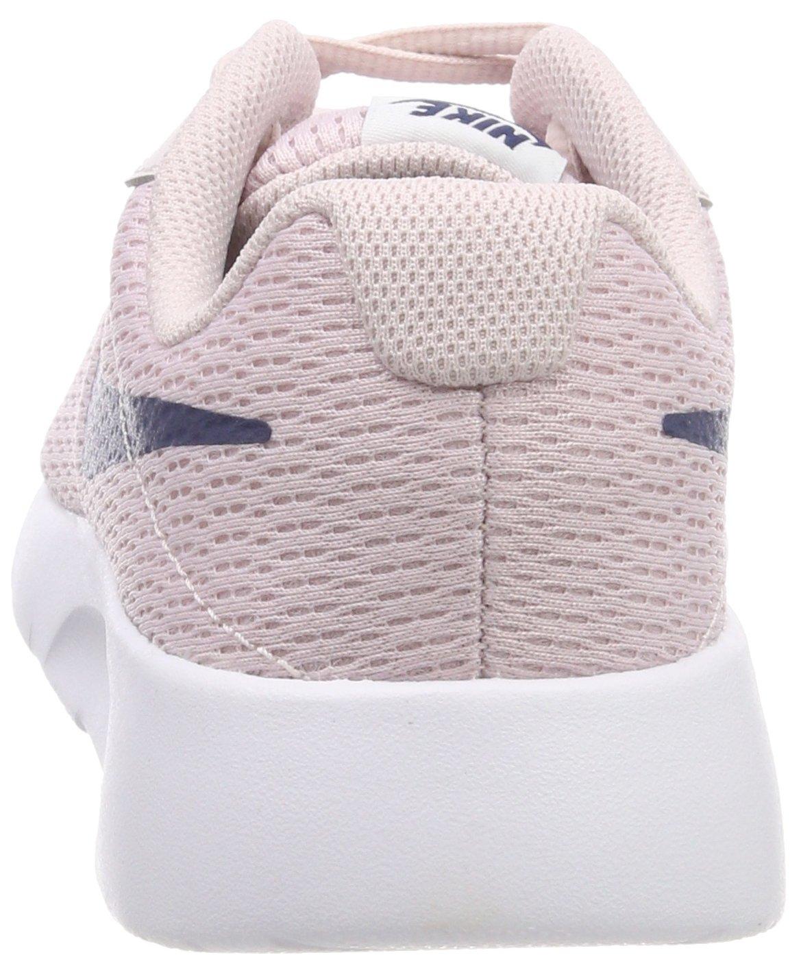 Nike Girl's Tanjun Shoe Barely Rose/Navy/White Size 4 M US by Nike (Image #2)