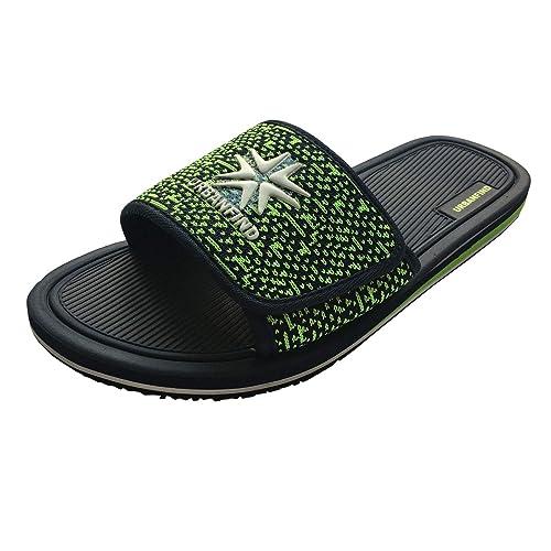 e261cf6a6637 URBANFIND Men s Sandals Adjustable Thong Slippers Slide Flip Flop Blue