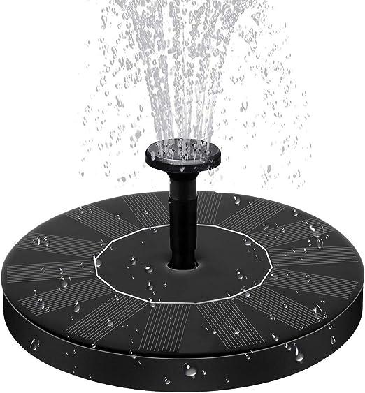 Solar Fountain Water Pump for Bird Bath Garden Outdoor Solar Powered Fountain Pump Pond Pool