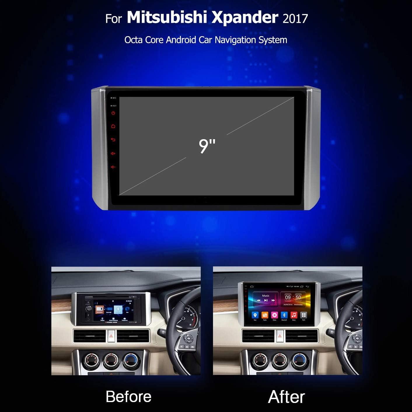 XBRMMM Radio Coche con Sistema Android 9.0 9 Pulgadas para ...