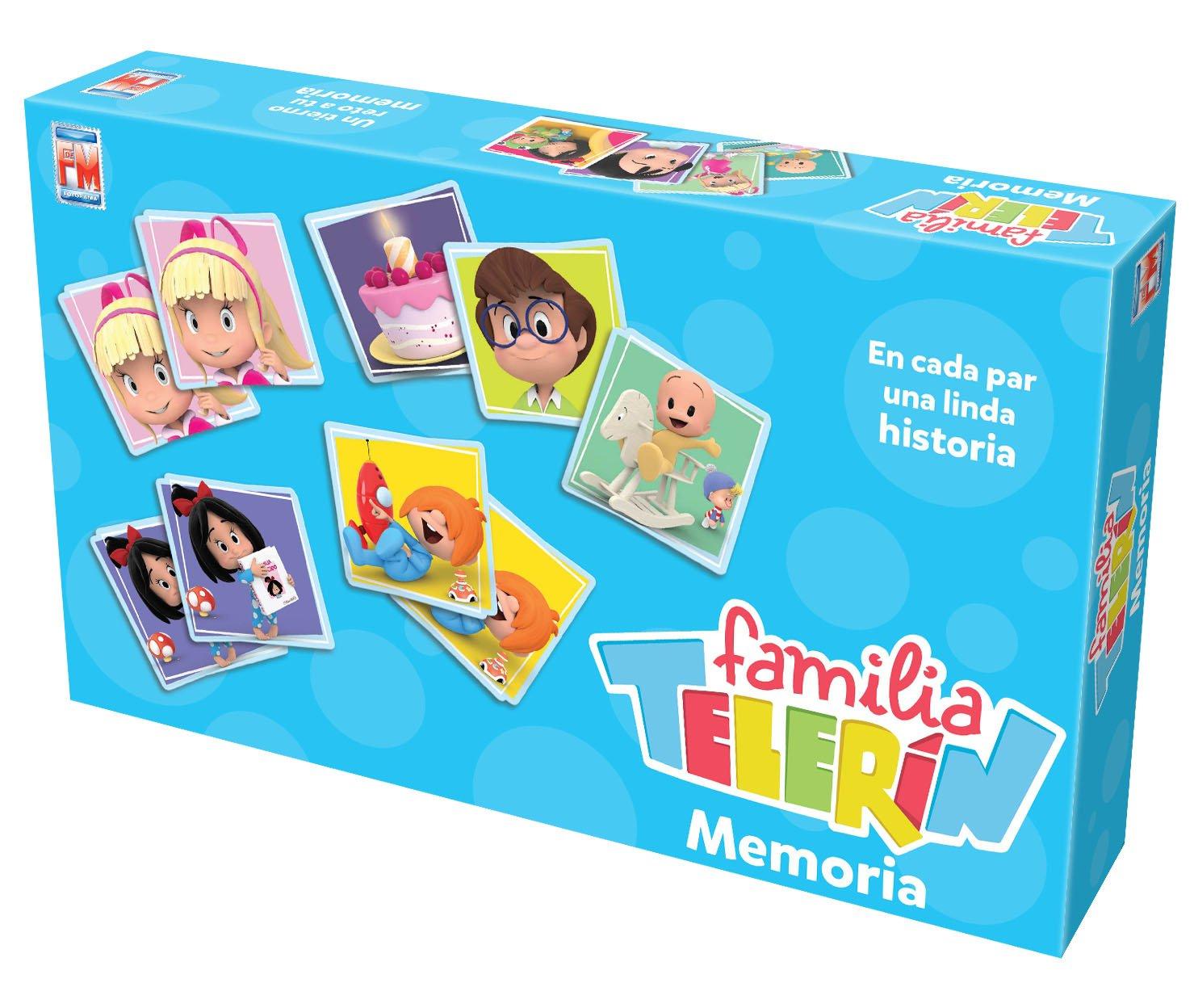 Televisa Juego De Mesa Memoria Familia Teler N Amazon Com Mx  # Muebles Cuquins