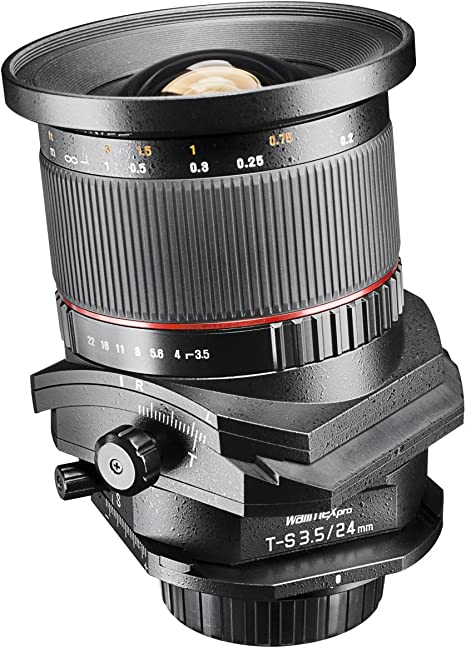 Walimex ED 24 mm f/3.5 AS UMC - Objetivo para Canon (Distancia ...
