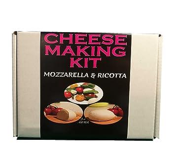 Kit para hacer queso mozzarella & requesón | termómetro/sonda