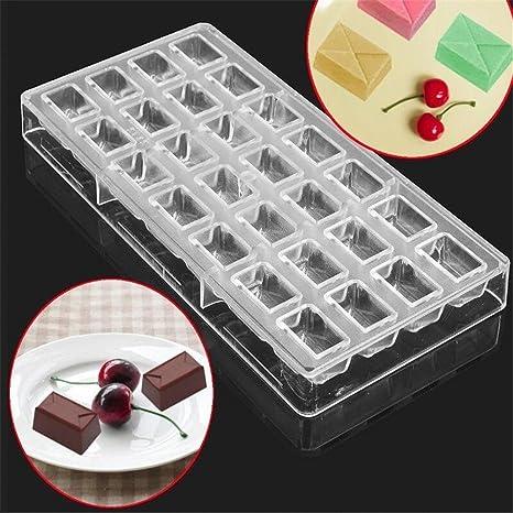 youzpin 3d claro sobres forma plástico policarbonato Seashell forma Chocolate molde Jelly Candy Making molde DIY