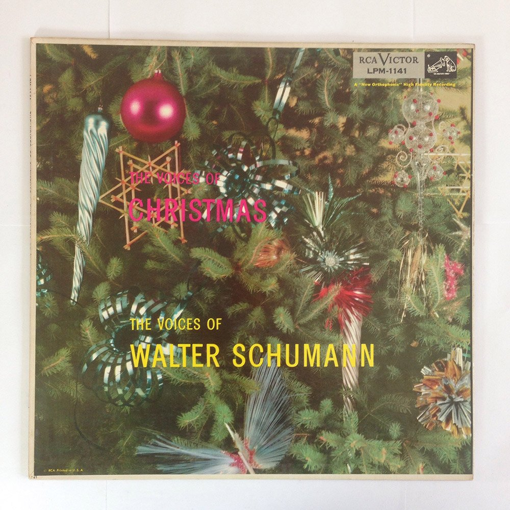 The Christmas Voices Of Walter Schumann [Vinyl LP] [Enhanced For Stereo]