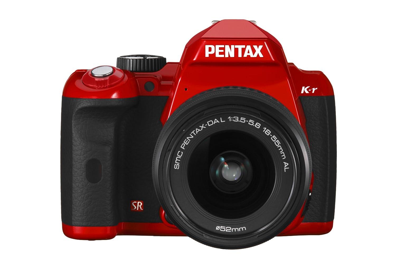 Pentax K-r - Cámara Réflex Digital 1.4 MP (Objetivo 18-55mm da-l ...