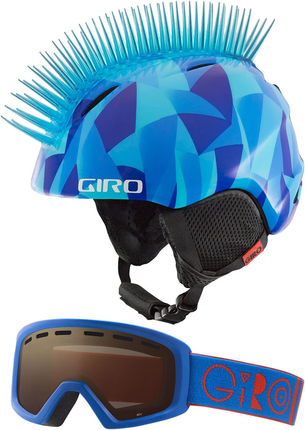 Giro Launch Combo Kids Snow Helmet w/Matching Goggles