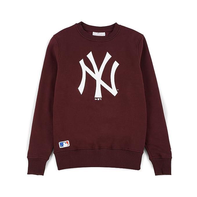 Sudadera New Era – Mlb New York Yankees Crew granate talla: S (Small)