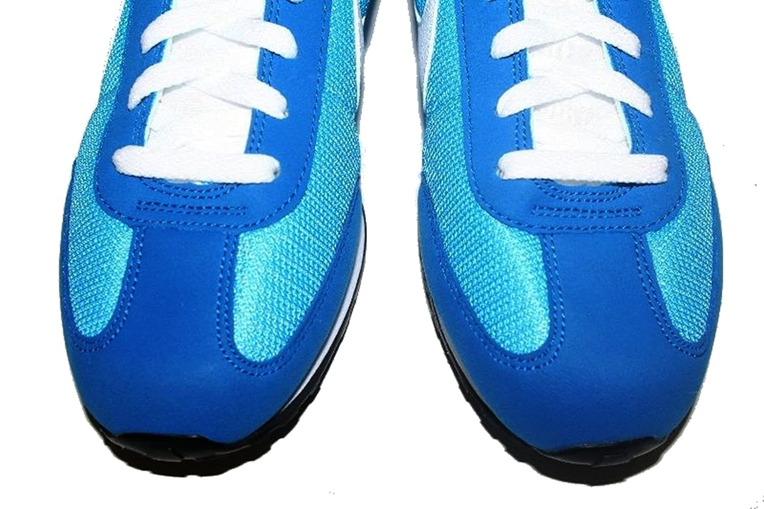 Amazon.com | Nike Mens Mach Racer Retro Waffle Running Shoes Blue White 7 |  Running