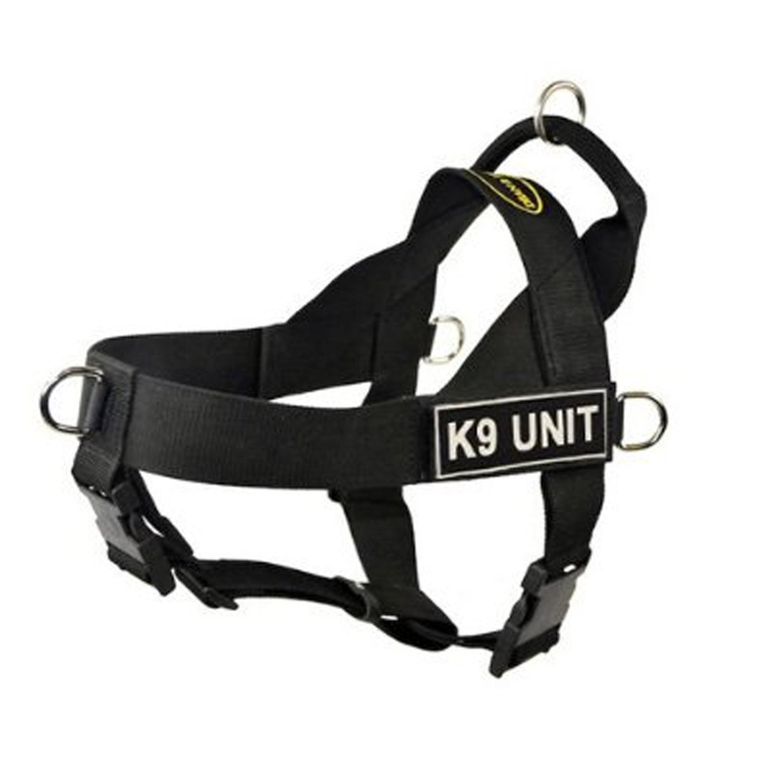 DT Universal No Pull Dog Harness, K9 Unit, Black, Large, Fits Girth Size: 31-Inch to 42-Inch