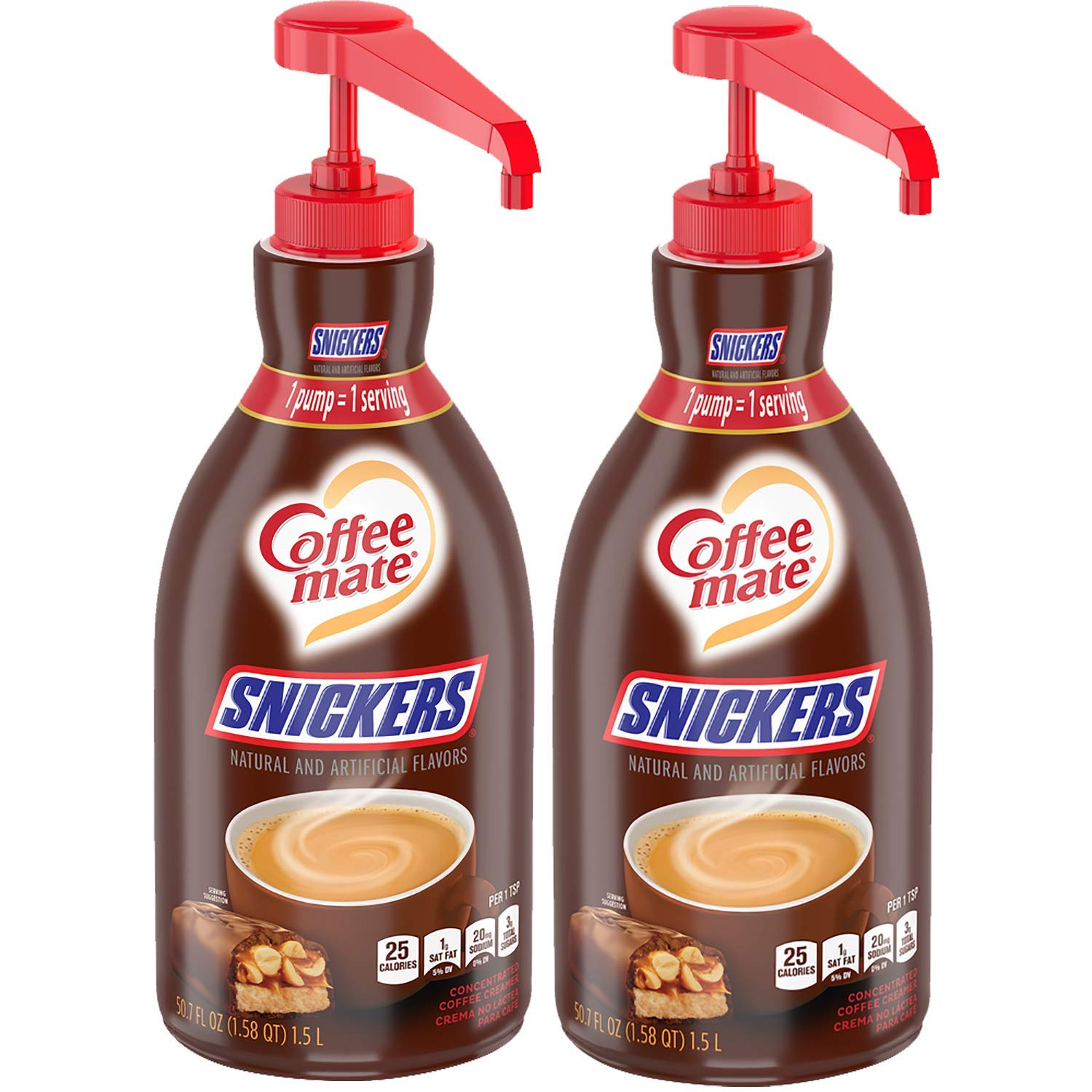Nestle Coffee Mate Coffee Creamer, Snickers