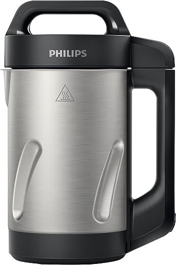 Philips HR2203/80 blender met verwarmingsfunctie, zwart 1,2 l, 1000 W