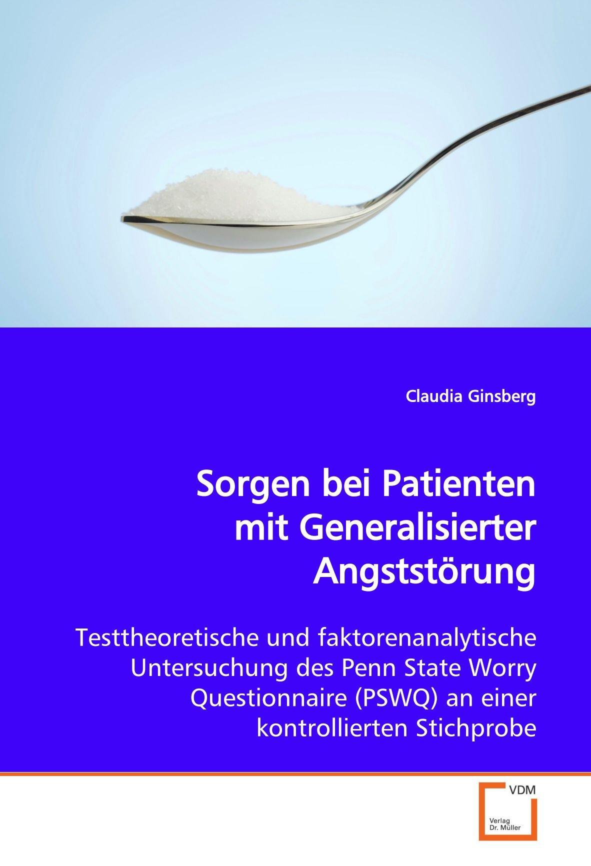 Sorgen bei Patienten mit Generalisierter Angststörung ...