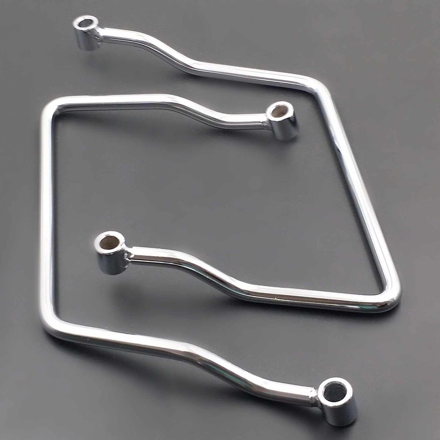 Moto Chrome 11/ cm borsa da sella barra di supporto staffa per Honda Shadow Ace VT1100/ Sabre 1100/ C2/ 1995/  / 1999