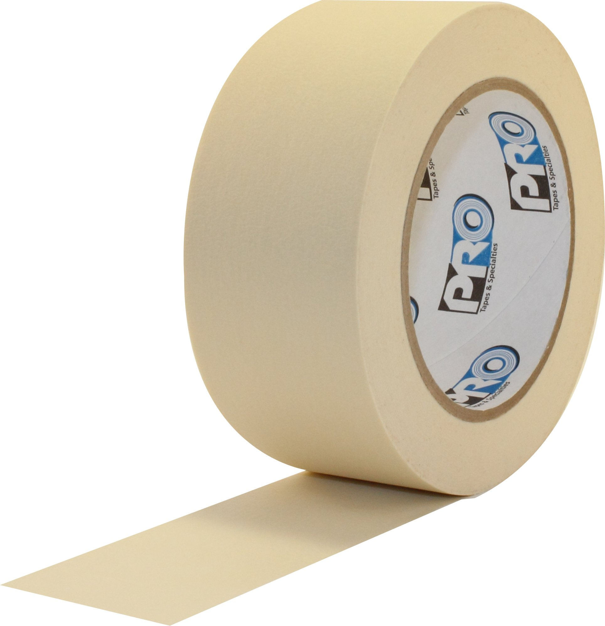 ProTapes Pro 795 Crepe Paper General Purpose Masking Tape, 60 yds Length x 2'' Width, Tan (Pack of 24)