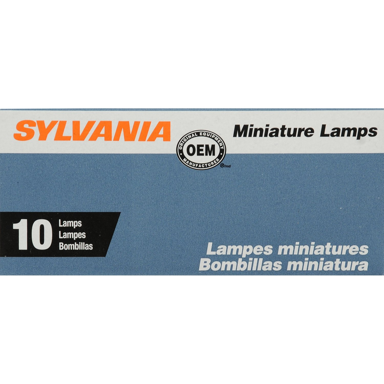 Amazon.com: SYLVANIA 1816 Basic Miniature Bulb, (Contains 10 Bulbs): Automotive