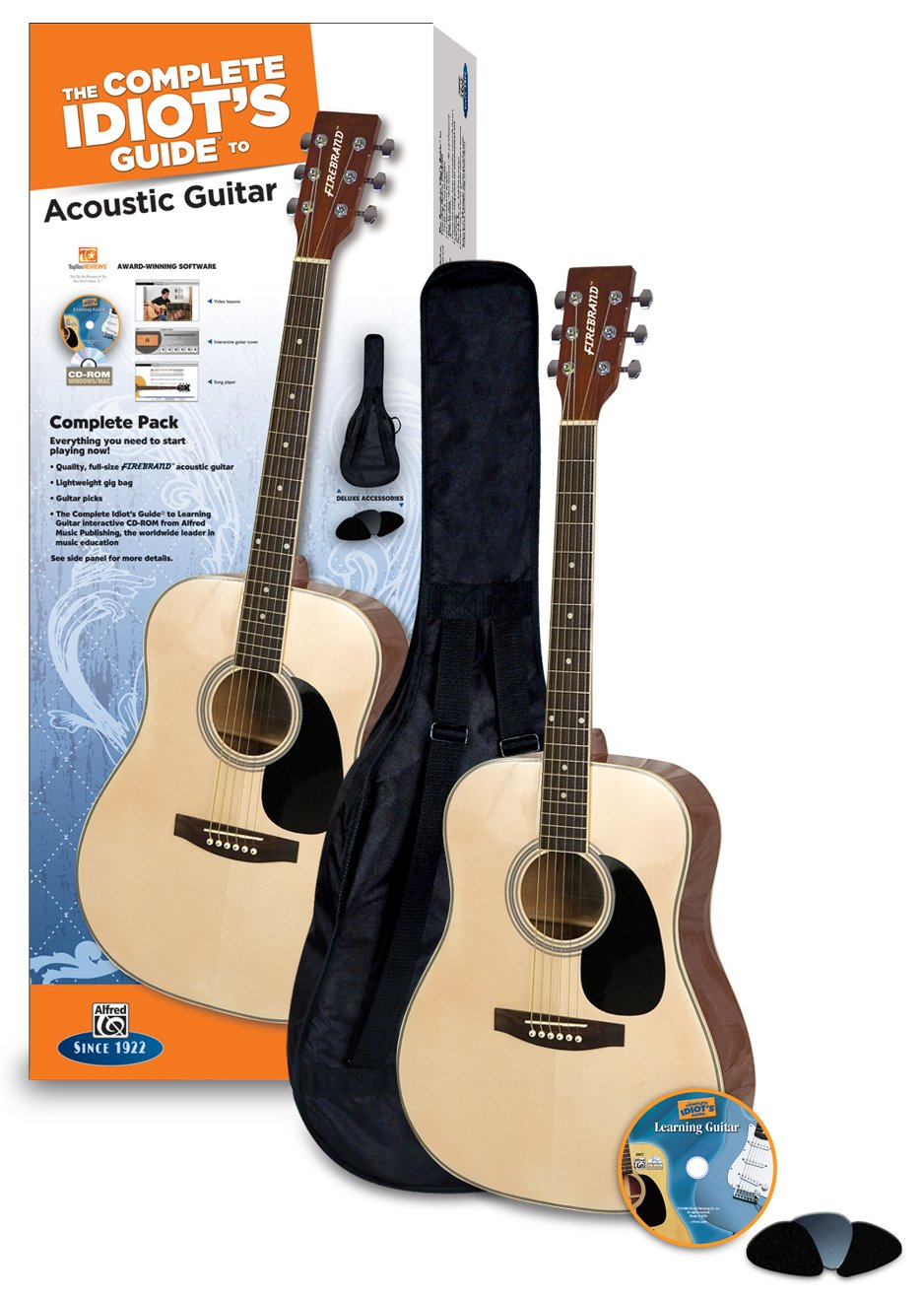 Amazon Complete Idiots Guide Acoustic Guitar Pack Musical