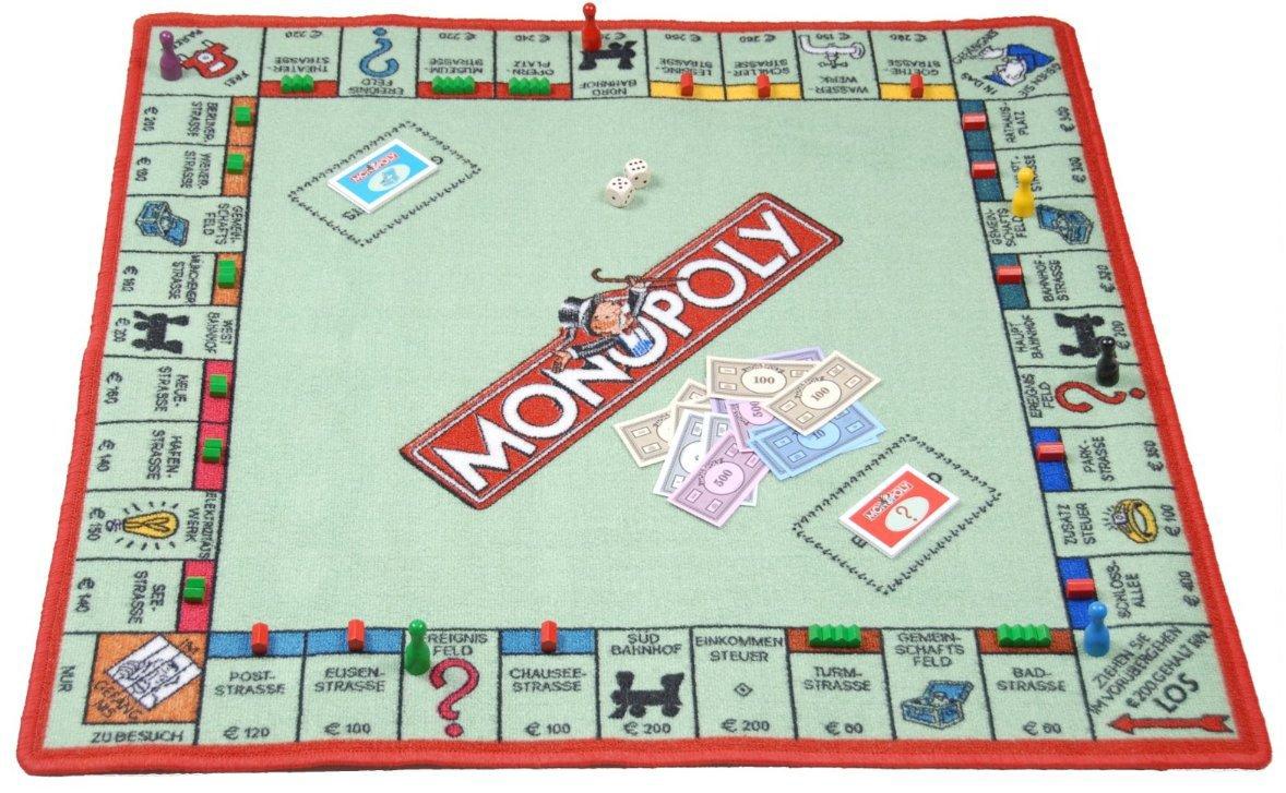 Hasbro Parte – Alfombra Infantil 'Monopoly'