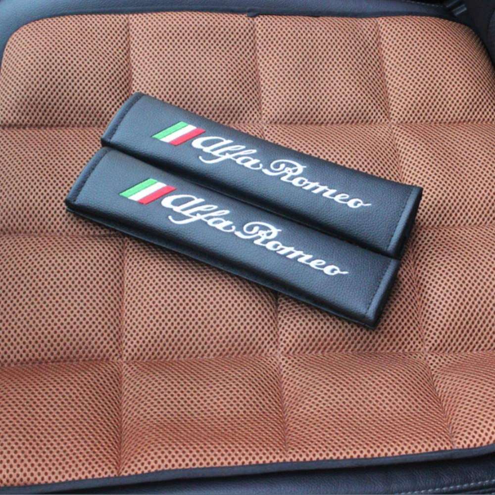 Hei/ßer Neuer Sicherheitsgurt aus Pu-Material,f/ür Alfa Romeo Giulia Stelvio 159 147 156 166 Giulietta MITO GT 4C Auto Styling
