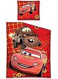 Parure housse de couette 140 x 200 Linge de maison Cars Disney 1 Personne Garcon 100 % Coton