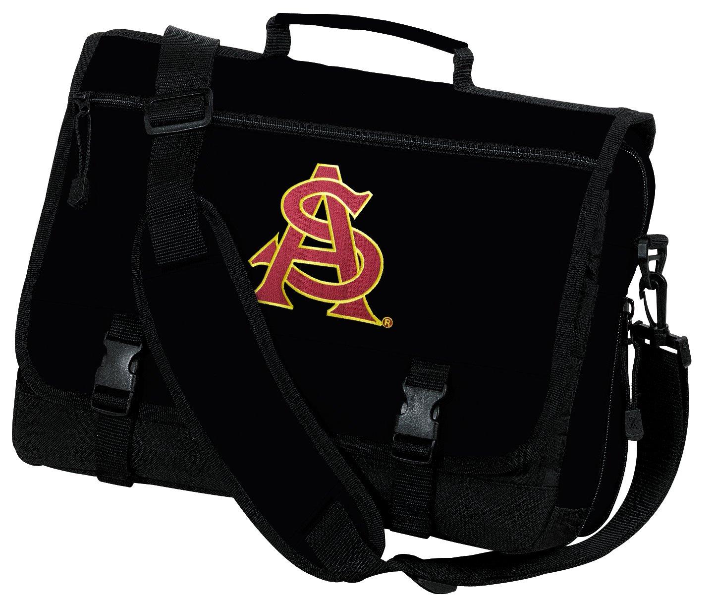cdd2139272eb Amazon.com   Broad Bay ASU Laptop Bag ASU Sun Devils Computer Bag or  Messenger Bag   Sports Fan Messenger Bags   Sports   Outdoors