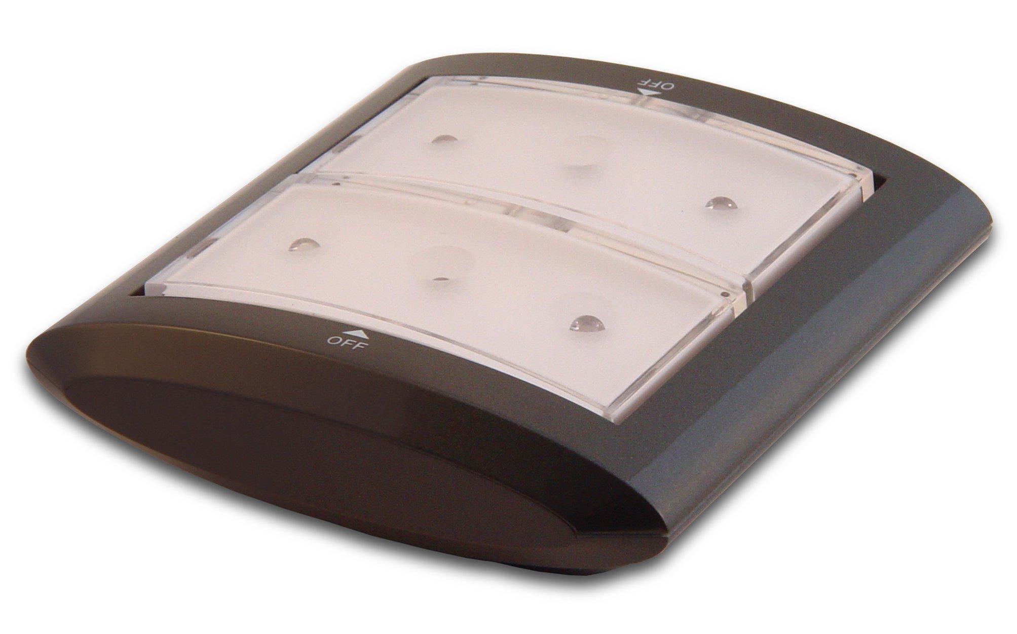 Rite Lite LPL903 Wireless 6 LED Multi-Directional Accent Light, Grey