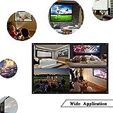 Lxuzan 120 inch Projector Screen Outdoor Indoor