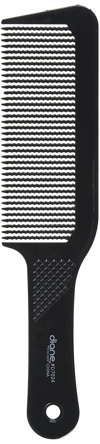 Diane 9.5 Inch Flat Top Clipper Comb Black