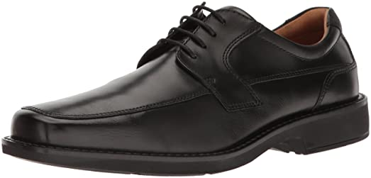 ECCO Men's Seattle Apron Toe Oxford, Black, 39 EU/5-5.5 M