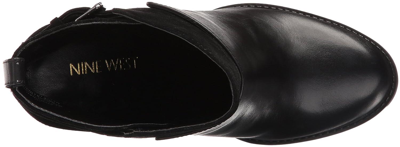 Nine West Women's Quinah Ankle Bootie B01EX0YE6S 10 B(M) US Black