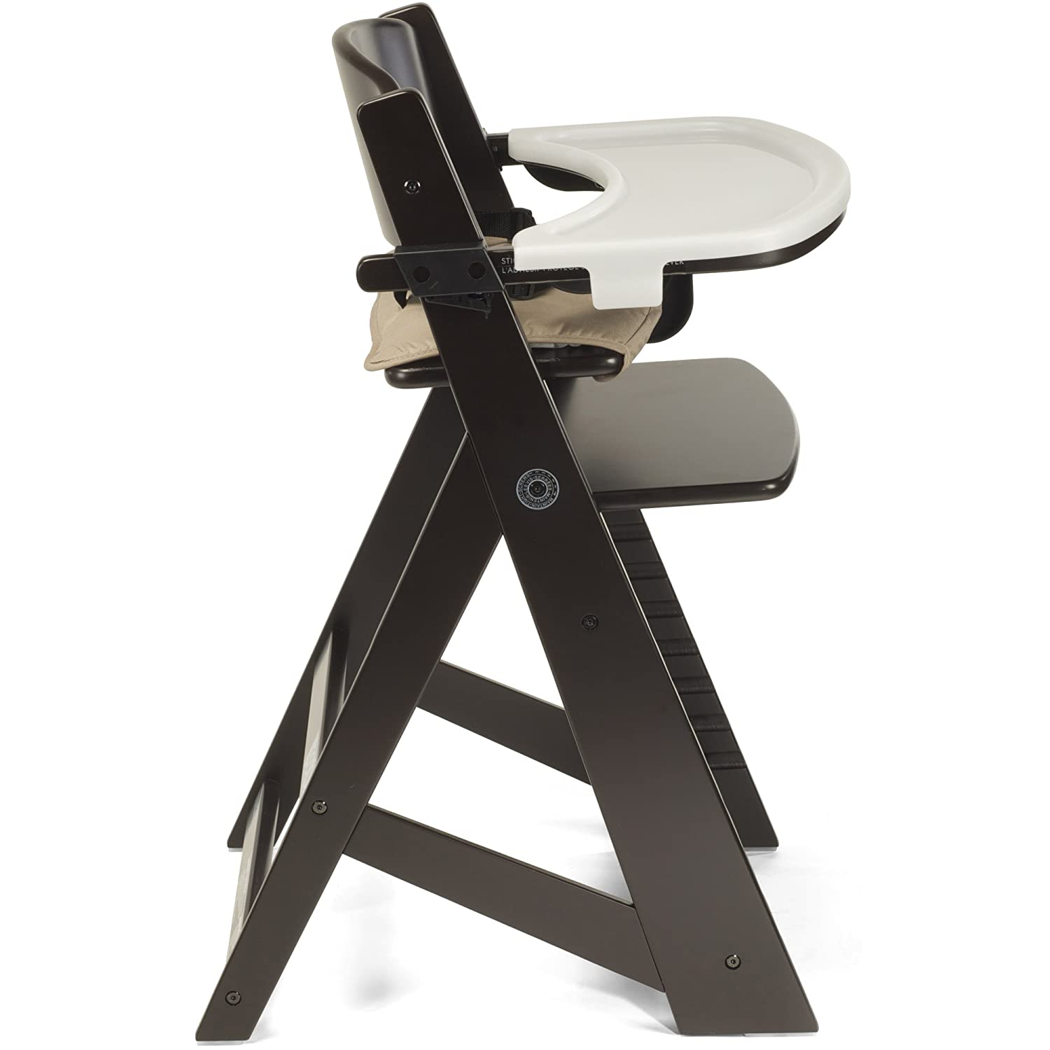 Amazon Keekaroo Height Right Highchair with Tray Espresso