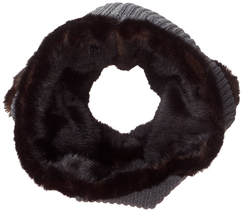 Buff Mujer Knitted Collar Adal Wolf Braga, Steel Steel, One Size Original Buff S.A. 1883.909.10