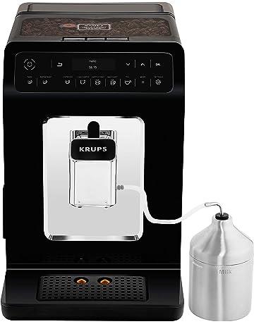 Krups Evidence Cafetera Automática 1450 W, 2.3 litros, Acero Inoxidable, Negro