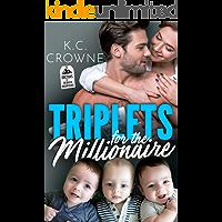 Triplets for The Millionaire : A Secret Baby Romance (Doctors of Denver Book 4)