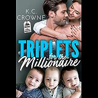 Triplets for The Millionaire : A Secret Baby Romance (Doctors of Denver) (English Edition)