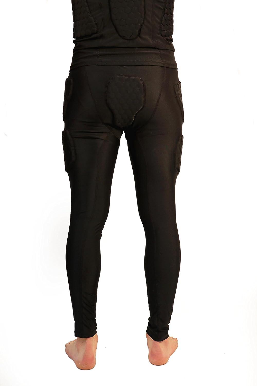 5 piezas Barnett FS-07 Pantalones de compresi/ón dise/ño de f/útbol americano
