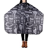 Honbay Haircut Apron Hairdressing Gown Cape Hair Design Cut Salon Hairstylist Barber Nylon Cloth Wrap Protect